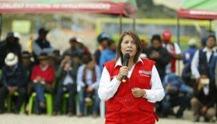 Ministra Bustamante: Esperamos que PJ se sume a diálogo en Las Bambas
