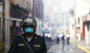 """Mesa Redonda: """"la zona está con altos niveles tóxico en el aire"""""""