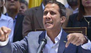 "Guaidó advierte con sacar a ""la fuerza"" a Maduro"