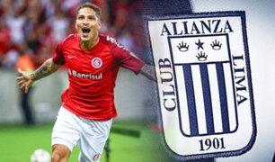 Alianza Lima vs. Internacional: Paolo Guerrero enfrentará por primera vez al cuadro blanquiazul