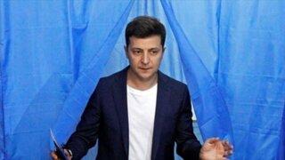 Ucrania: actor cómico Vladimir Zelenski es elegido presidente
