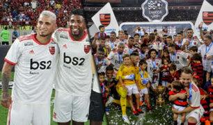 Miguel Trauco campeonó con Flamengo en Brasil