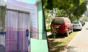 Calles tomadas: vecinos usan veredas y pistas como propiedad privada