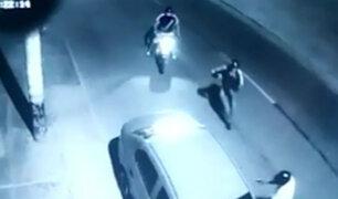 Robos en moto continúan al interior del país