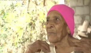 Honduras: vecinos tienen más de 100 años de edad