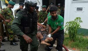 Sri Lanka: líderes mundiales condenan brutal ataque