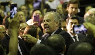 Critican a Barnechea por discurso político en funeral de Alan García