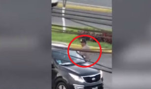 La Perla: captan a policía recibiendo supuestamente una coima