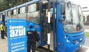 Rímac: buses del Corredor Azul utilizan como paradero peligrosa pendiente