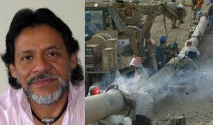 César Gutiérrez: Estado Peruano perdería $2 mil millones por Gasoducto Sur
