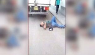 VES: ladrón resultó herido durante intento de asalto a camión