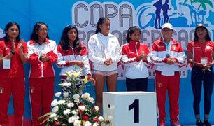 Equipo femenino de marcha se consagró campeón en Copa Panamericana
