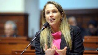 Luciana León anuncia proyecto de ley para modificar la prisión preventiva