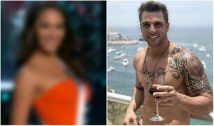 Nicola Porcella fue captado ingresando a su departamento junto a ex Miss Perú