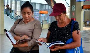 Metro de Lima: usuarios pueden acceder a préstamo de libros en cuatro estaciones
