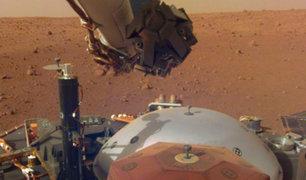 Se registra por primera vez en la historia un temblor en Marte