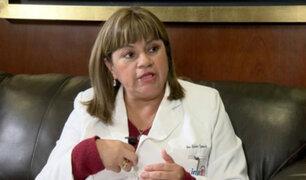 Ministra Tomás: Caso de bebés fallecidos en Lambayeque es problema de gestión