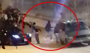 EXCLUSIVO: delincuentes son captados asaltando Tottus de SJL