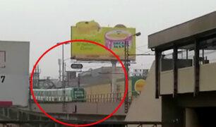 Metro de Lima: tren se detuvo cerca de estación Atocongo por falla eléctrica