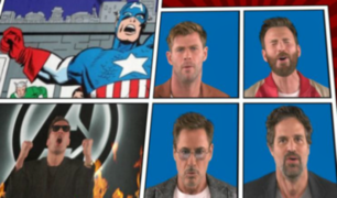 Elenco de ''Avengers: Endgame'' canta al ritmo de ''We Didn't Start the Fire''