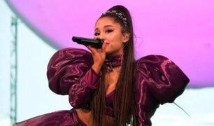 Ariana Grande es agredida durante su presentación en Coachella