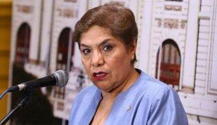 Luz Salgado: esposo de la excongresista falleció esta mañana