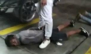 Chimbote: caen cuatro delincuentes cuando iban a asaltar grifo