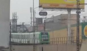 Estación Atocongo: se reanudó actividades del servicio tras fallas eléctricas