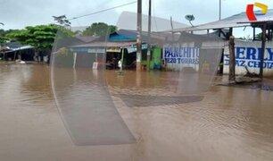 Pucallpa: Intensas lluvias causan inundaciones en varias zonas