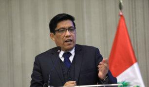 Ministro Zeballos: Se presentó propuesta para reestructurar el INPE
