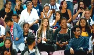 Alentando a Guerrero: Alondra García Miró y Doña Peta estuvieron en estadio