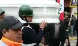 La Oroya: escolares que murieron en accidente fueron despedidos por compañeros