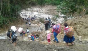 Amplían estado de emergencia en distritos de Cusco y Arequipa por lluvias