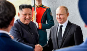 Rusia: Kim Jong-un y Vladimir Putin celebraron su primera cumbre