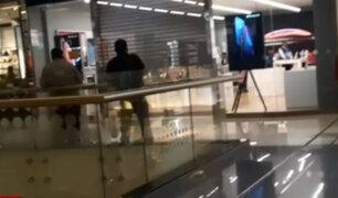 Jesús María: delincuentes asaltan Real Plaza Salaverry