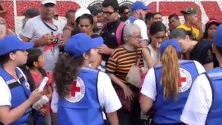 Venezuela: ayuda humanitaria de la Cruz Roja se vende en las calles