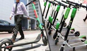 MTC prohíbe circulación de scooters eléctricos por veredas y limita velocidad