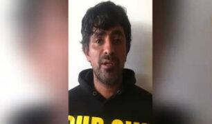 Autoridades presentan a feminicida que quemó a mujer en SJM