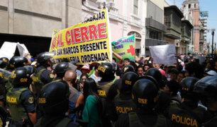 Mesa Redonda: comerciantes protestan por cierre temporal de zona comercial