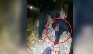 Carabayllo: ladrones hacen forado para robar en farmacia