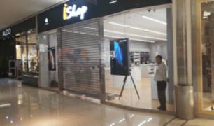 Real Plaza Salaverry emitió comunicado tras robo a tienda de productos Apple