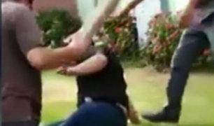 Arequipa: ladrón fue linchado tras asaltar a dos escolares