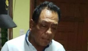 Lambayeque: detienen en operativo a exalcalde de Íllimo