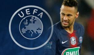 """Neymar Jr.: UEFA sanciona a crack por """"insultar a los árbitros"""" por partido de Champions"""
