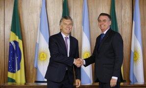 """Bolsonaro teme que Argentina se transforme """"en otra Venezuela"""" de volver el kirchnerismo"""