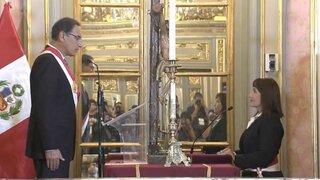 María Jara y Miguel Estrada juraron como nuevos ministros