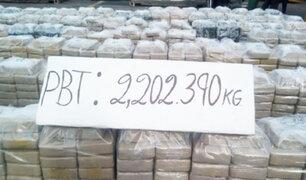 Callao: esta era la ruta de las 2 toneladas de droga incautada en barco de bandera liberiana