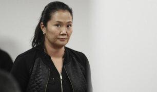 Corte Suprema analiza recurso de casación presentado por la defensa de Keiko Fujimori