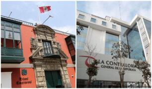 TC aún no admite un pronunciamiento definitivo sobre facultad sancionadora de la Contraloría
