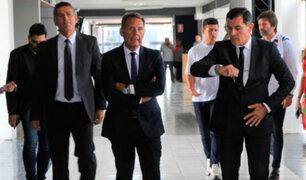 IMÁGENES EXCLUSIVAS   Alianza Lima: última conversación entre Russo y Zevallos